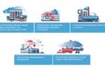 Иллюстрации для сайта строительных материалов
