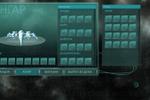 Интерфейс для космоигры battle space