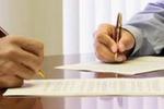 Заключение крупного контракта