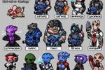 персонажи в настольную игру
