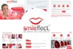 Полиграфические материалы к выставке для компании Smileffect