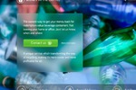"""Landing Page  """"Money in the bottle""""."""