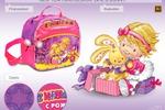 Новогодняя сумочка-упаковка для девочки.
