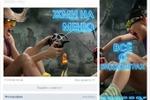 Аватар+открытая картинка,со ссылкой на меню