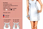 Платье-футляр для яхт-клуба