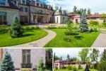Сад загородного дома