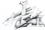 эскиз выставочного комплекса