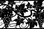 Дизайн металлических панелей, Виноград
