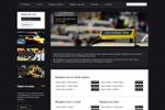 Сайт визитка Такси Престиж