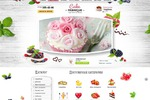Главная страница магазина тортиков