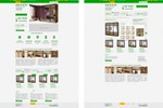 Страницы интернет-магазина шкафов-купе