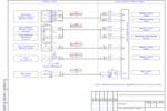 Автоматизация вентиляции (АОВ) - Больница - Схема соединения