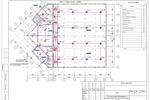 (СС) - Здание ФОК Горки - План трасс АПС 2-й этаж