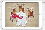 Новогодняя открытка для заказчиков 2015