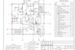 (ВК) - Банк (9 эт.) Якутия - План 2-го этажа с сетями В1, Т3