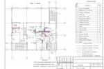 (ВК) - Банк (9 эт.) Якутия - План 3-го этажа с сетями В1, Т3