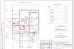 (ВК) - Коттедж Власково - План 1-го этажа с сетями К1