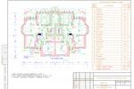 ЭОМ - Коттедж Пушкин - План сетей электроосвещения 1-го этажа