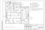 ЭОМ - Офисное здание - План сетей электроосвещения