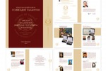 Верстка отчетной брошюры-каталога «Созвездие талантов»