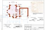 ОВ - Коттедж Пермь - План 1-го этажа с теплыми полами