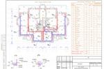 ОВ - Коттедж Пушкин - План этажа с приточно-вытяжной вентиляцией