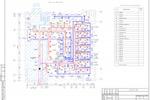 ОВ - Офис Ноябрьск - План с сетями вентиляции
