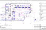 ТХ, ТР - АБК Москва - План точек подвода инженерных сетей