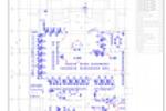 ТХ, ТР -Служба единого окна -План помещений с тех. оборудованием