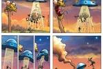 Серия из 200 комиксов для мобильных-отрывок