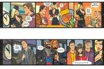 Рекламный комикс длинной 6 м