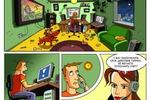 Рекламный комикс для интернета
