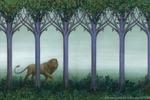 Лев в тумане))