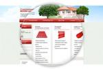 Дизайн главной страницы сайта для Современная кровля
