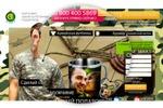 Landing page для Giftron.ru - 23 февраля