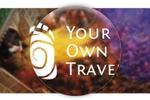 Logo для YourOwnTravel - уникальные трипы по всему миру