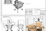 Кованная мебель, кресло