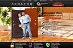 Landing Page  - продажа входных дверей Сенатор