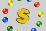 Анимированный, объемный логотип S