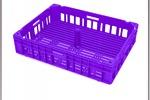 Ящик пластиковый(картинка с 3D-модели)