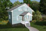 3Д визуализация жилого дома4