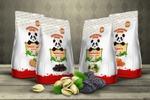 Серия упаковок орехов и сухофруктов