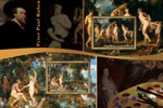марки картины Рубенса 1 лист