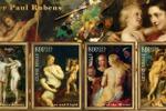 марки картины Рубенса 2 лист