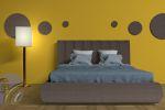 Кровать Цвет розовый с цветочками
