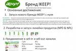 Продукты бытовой химии под брендом IKEEP!
