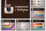 Дизайн презентации «Продвижение в Instagram»