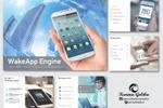 Дизайн презентации для компании «WakeApp Engine»