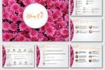 Дизайн презентации франшизы компании «Цветок»