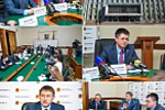 Репортажная фотосъемка у губернатора Кузбасса